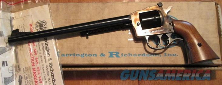 "HARRINGTON & RICHARDSON MODEL 586 10"" BARREL 32 MAG  Guns > Pistols > Harrington & Richardson Pistols"