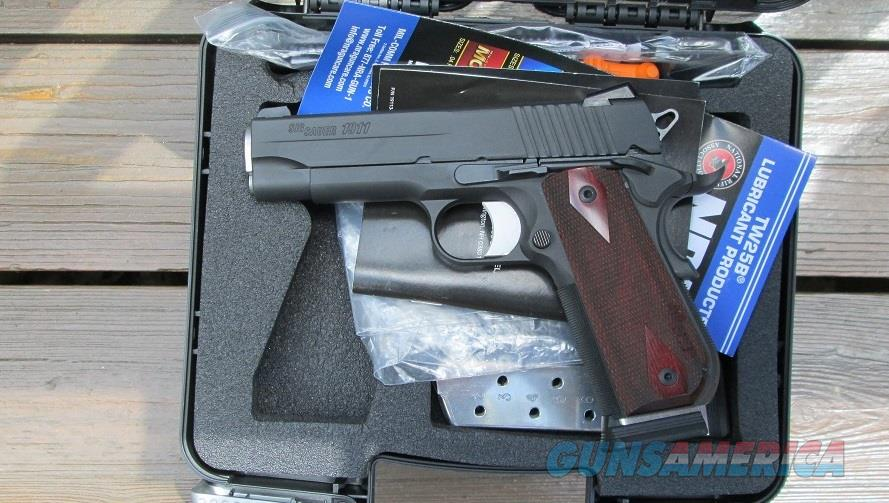 SIG SAUER CARRY FASTBACK .45ACP  Guns > Pistols > Sig - Sauer/Sigarms Pistols > 1911