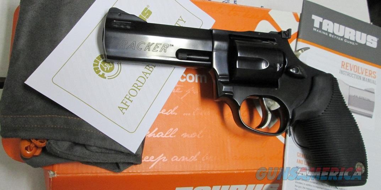 "TAURUS TRACKER .44 MAGNUM 4""  Guns > Pistols > Taurus Pistols > Revolvers"