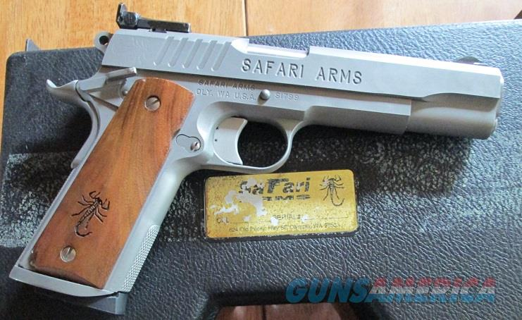 SAFARI ARMS MATCHMASTER RS    .45ACP  Guns > Pistols > 1911 Pistol Copies (non-Colt)