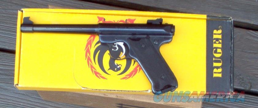 "RUGER MARK II TARGET 6 7/8"" BARREL W/BOX  Guns > Pistols > Ruger Semi-Auto Pistols > Mark I/II/III/IV Family"