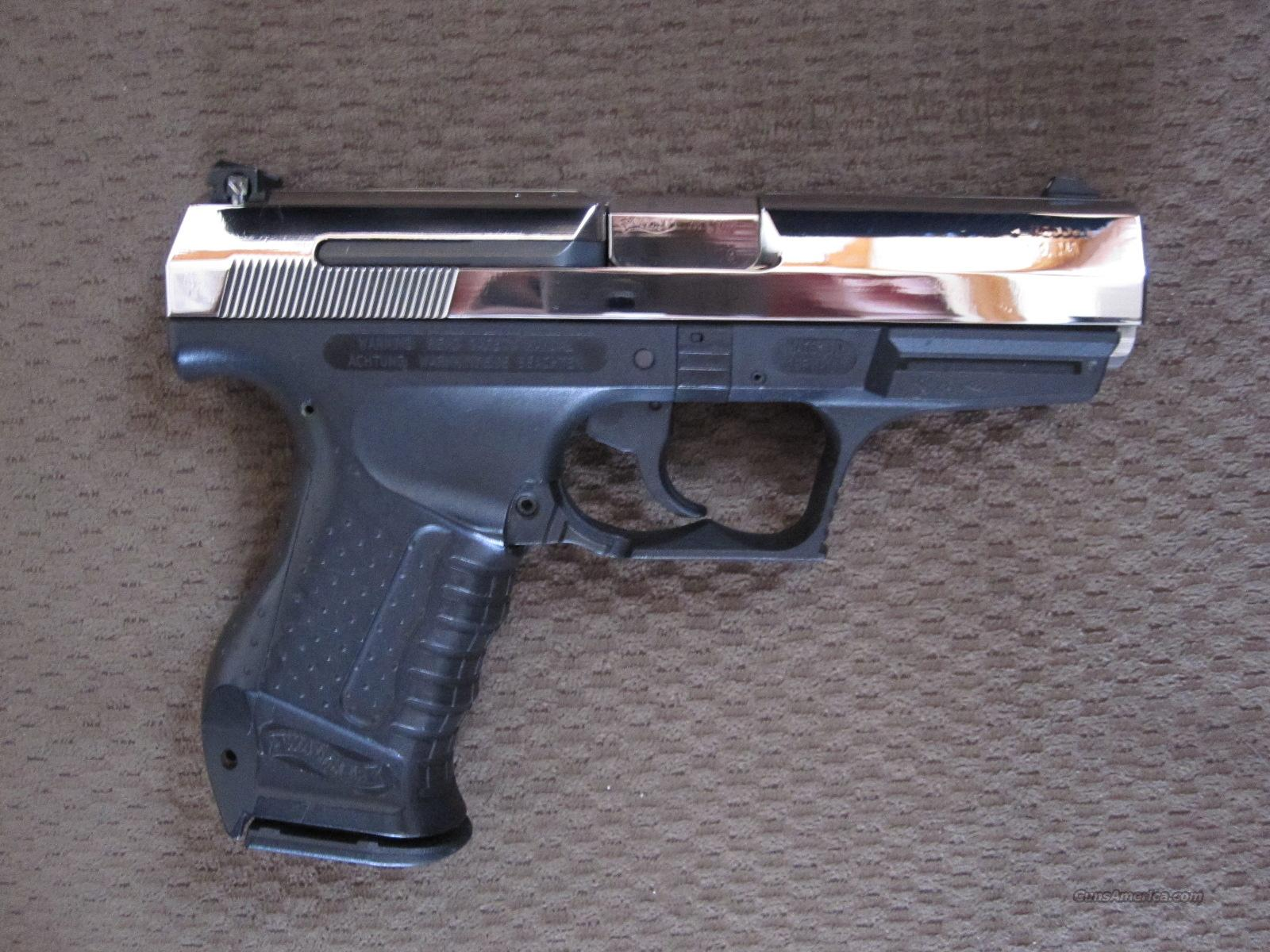 Mirror Polished Walther P99 Qa  40 One Of A Kin    For Sale