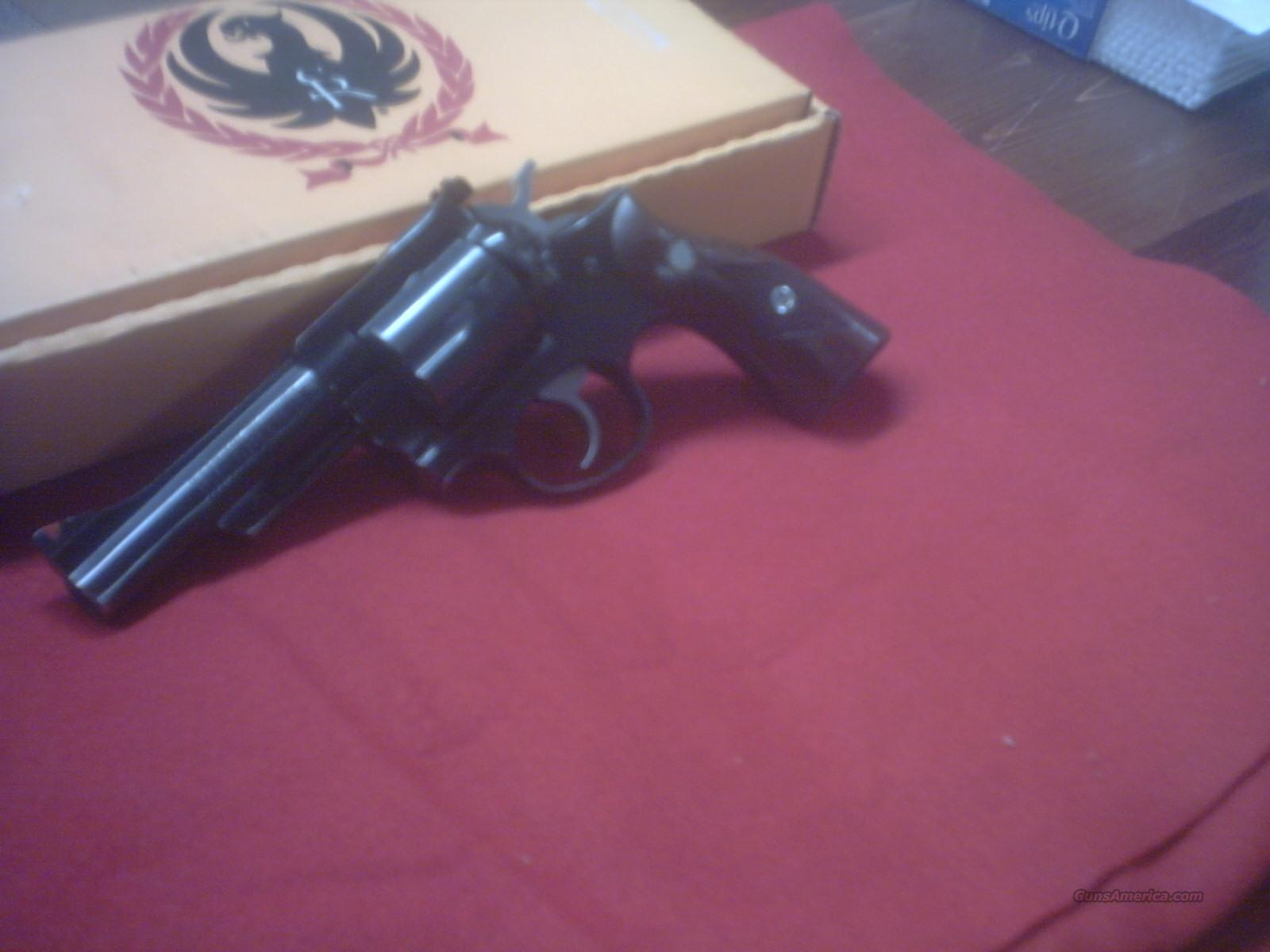 "Rugar Security six .357 mag 4"" blue  Guns > Pistols > Ruger Double Action Revolver > Security Six Type"