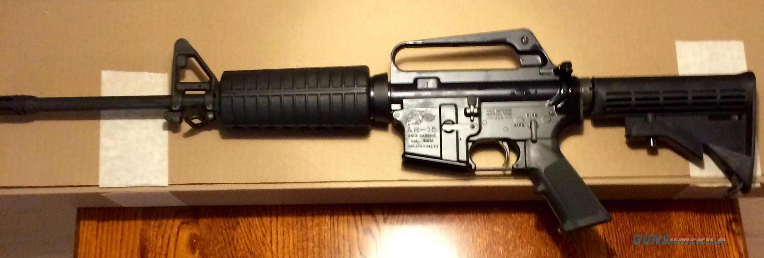 COLT AR15 Carbine 9mm 6450 LE marking NEW NIB  Guns > Rifles > Colt Military/Tactical Rifles