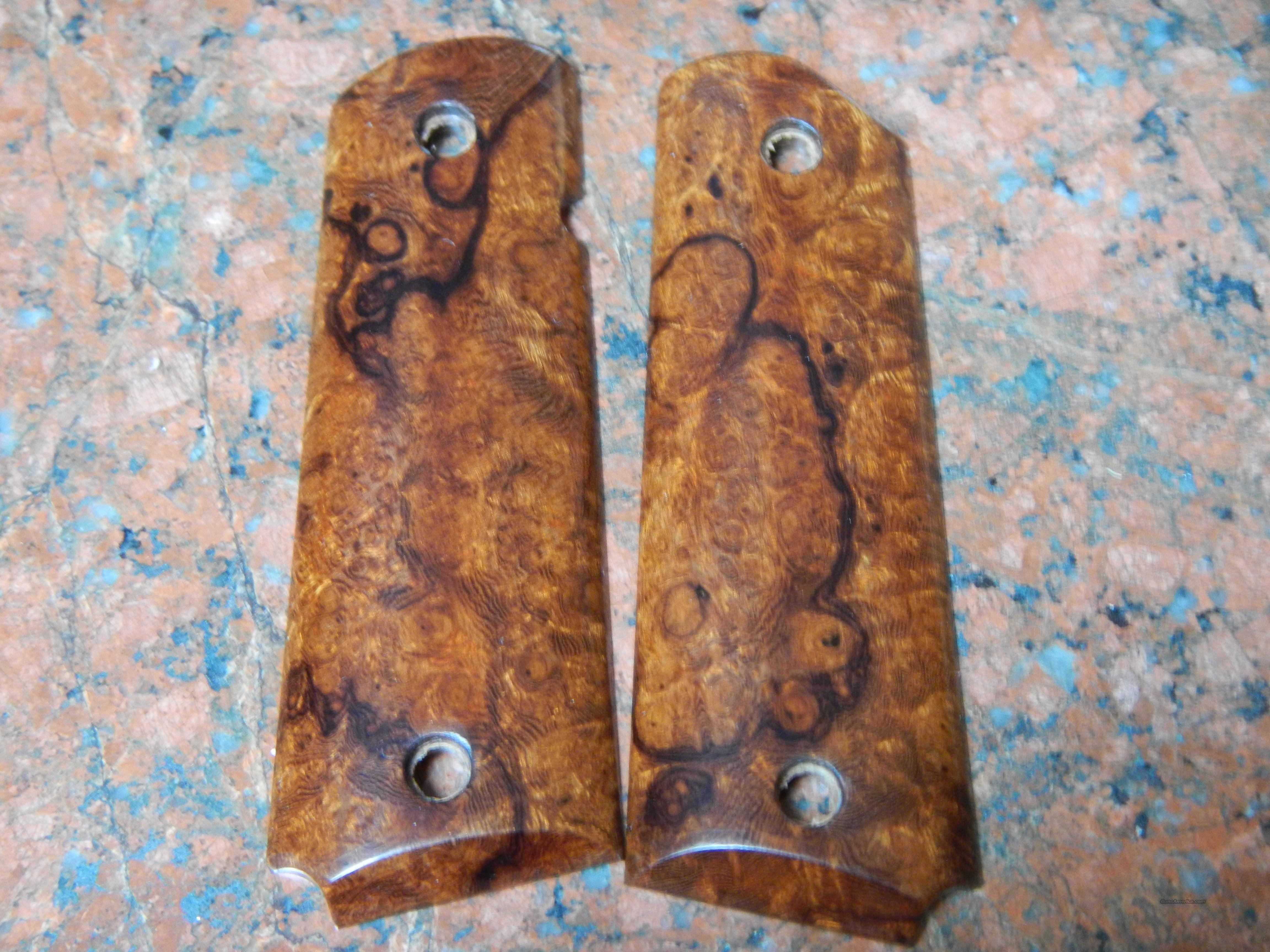 Arizona Desert Ironwood Burl 1911 grips  Non-Guns > Gunstocks, Grips & Wood
