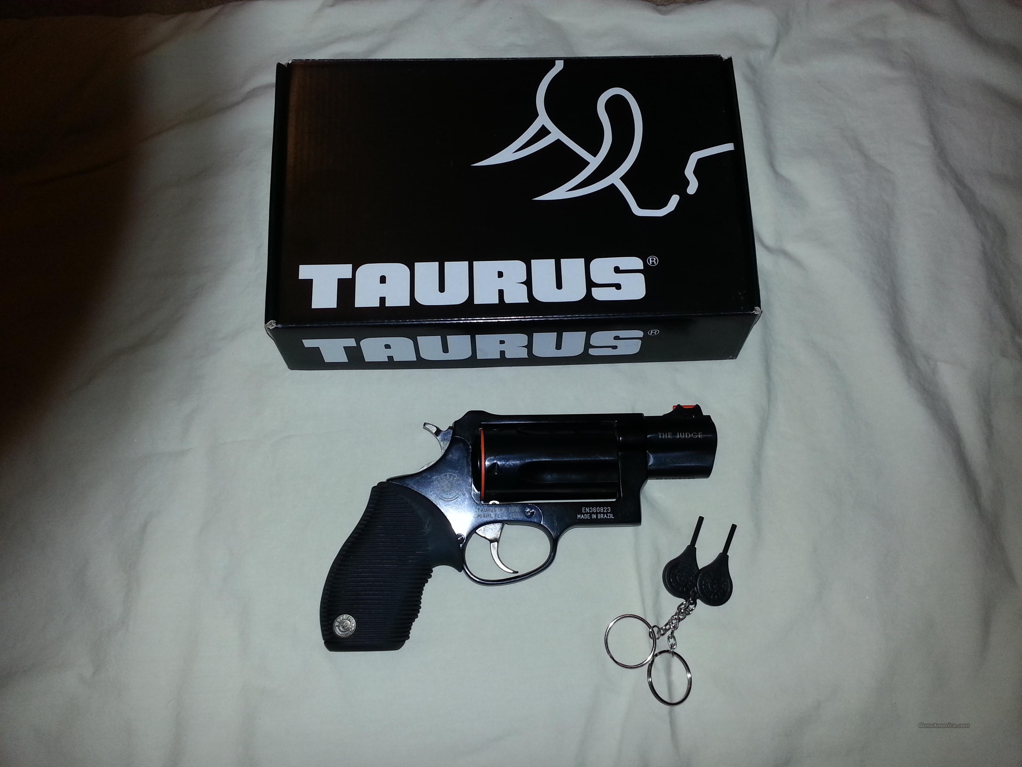 TAURUS/ THE JUDGE 45/410  Guns > Pistols > Taurus Pistols/Revolvers > Revolvers
