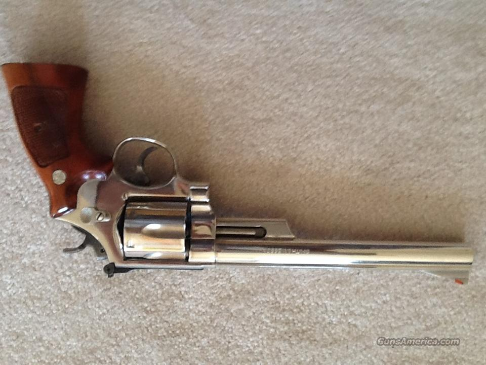 Smith and Wesson model 29 nickel  Guns > Pistols > Smith & Wesson Revolvers > Full Frame Revolver