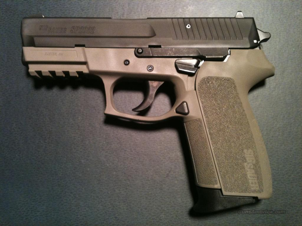 SP2022 in FDE Duracoat in DFW Area (With Accessories)  Guns > Pistols > Sig - Sauer/Sigarms Pistols > 2022