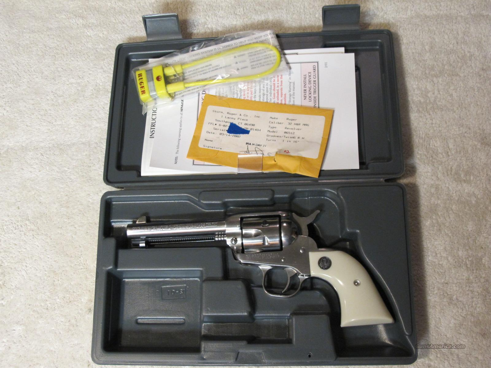 "Ruger Single Six .32 h&r magnum SS 4 5/8"" barrel  Guns > Pistols > Ruger Single Action Revolvers > Single Six Type"
