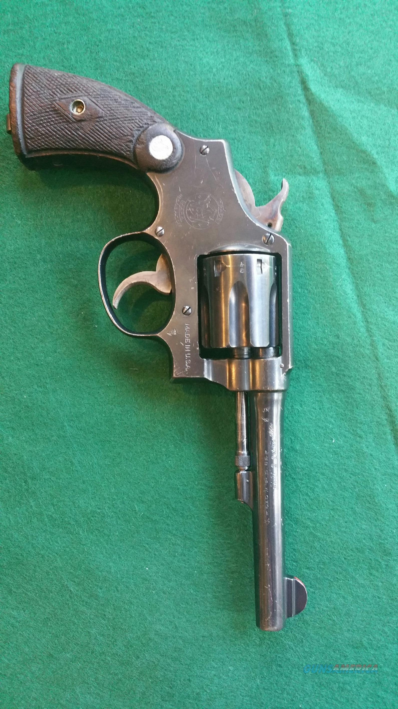Smith and Wesson .38 M&P  Guns > Pistols > Smith & Wesson Revolvers > Full Frame Revolver