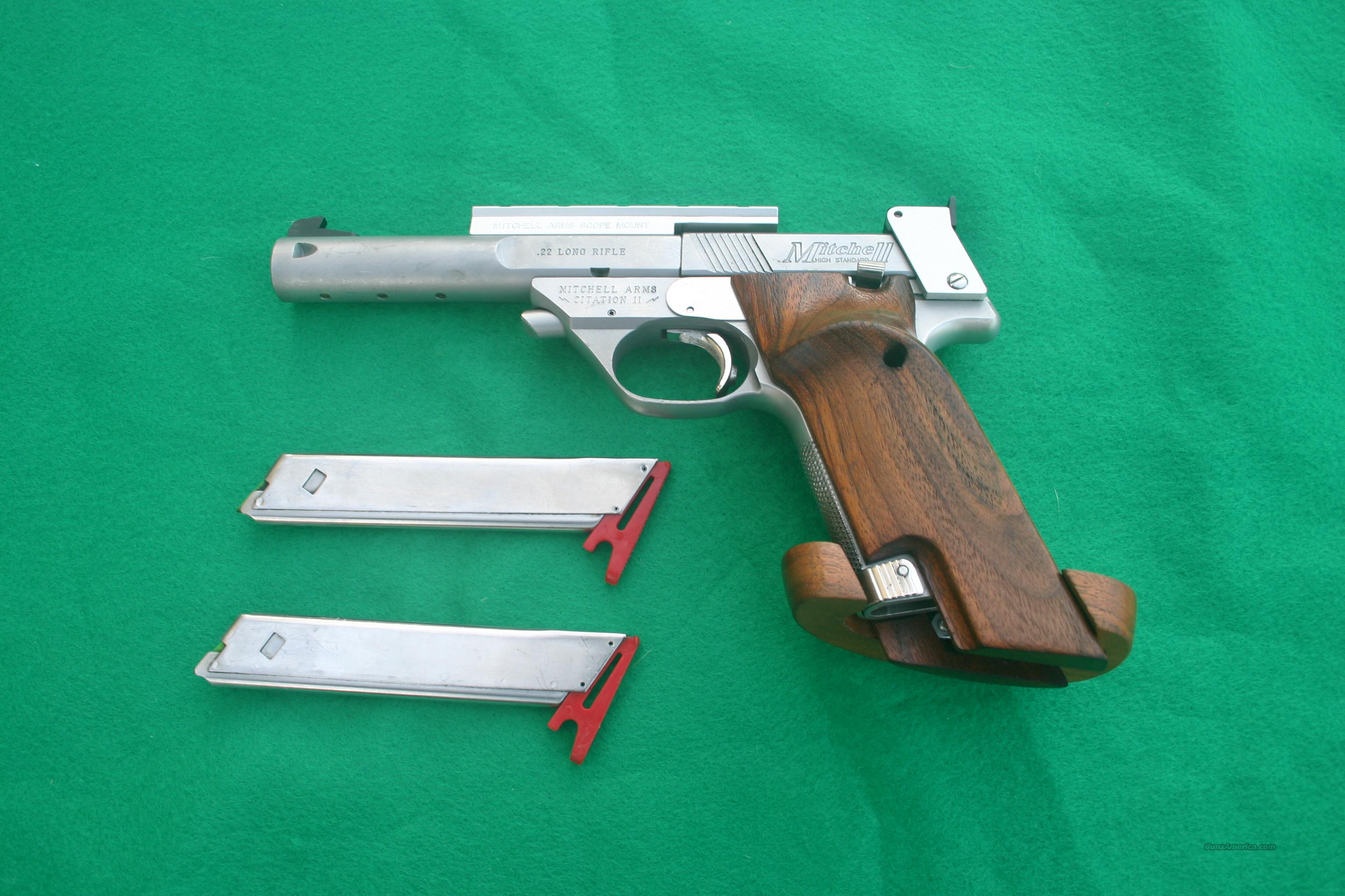 Mitchell Citation II 22lr  Guns > Pistols > Mitchell Arms Pistols