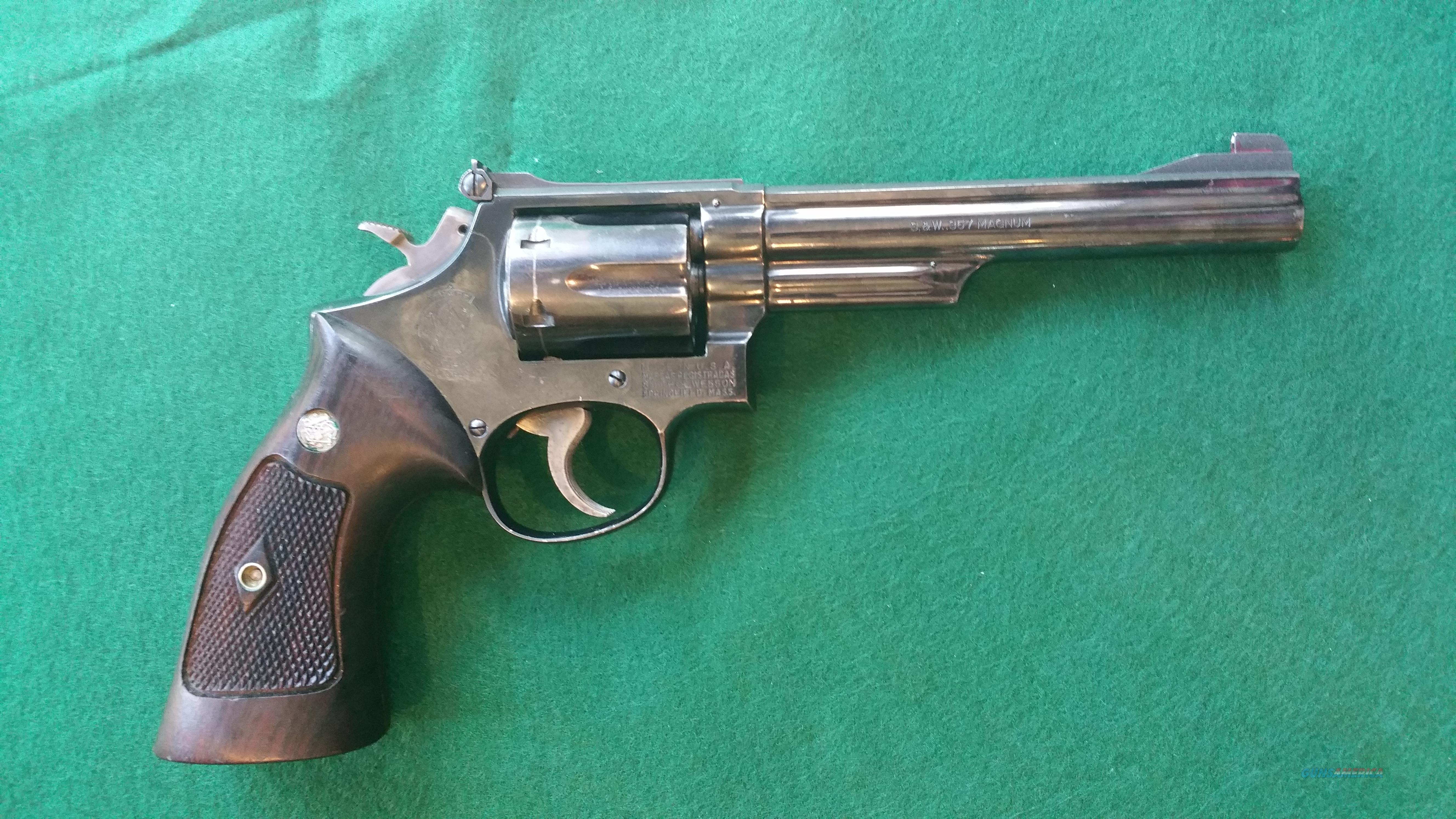 Smith and Wesson model 19-2 .357mag  Guns > Pistols > Smith & Wesson Revolvers > Full Frame Revolver
