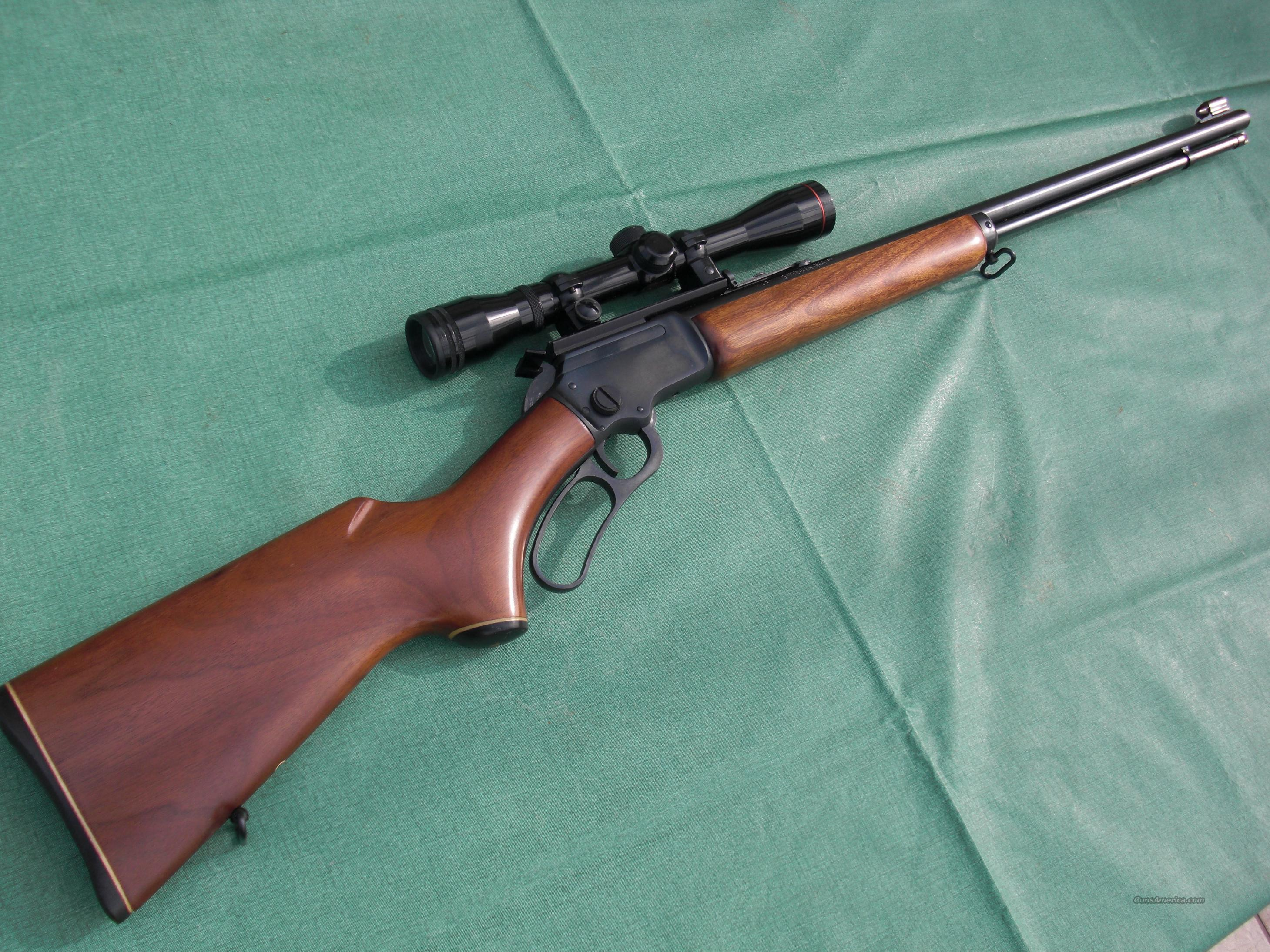 Marlin 39A in .22 with Scope  Guns > Rifles > Marlin Rifles > Modern > Lever Action