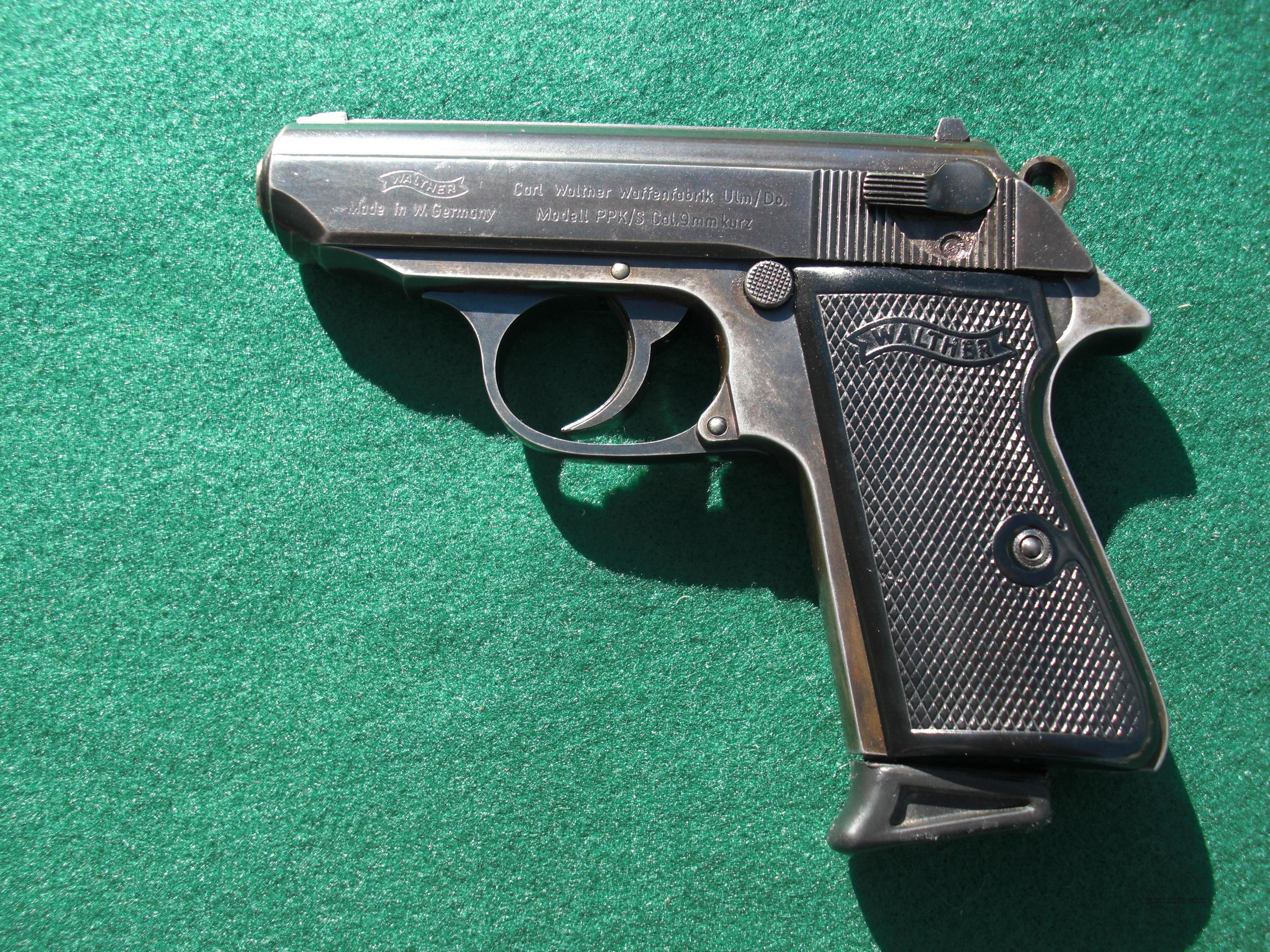 Walther PPK S 380acp  Guns > Pistols > Walther Pistols > Post WWII > PPK Series