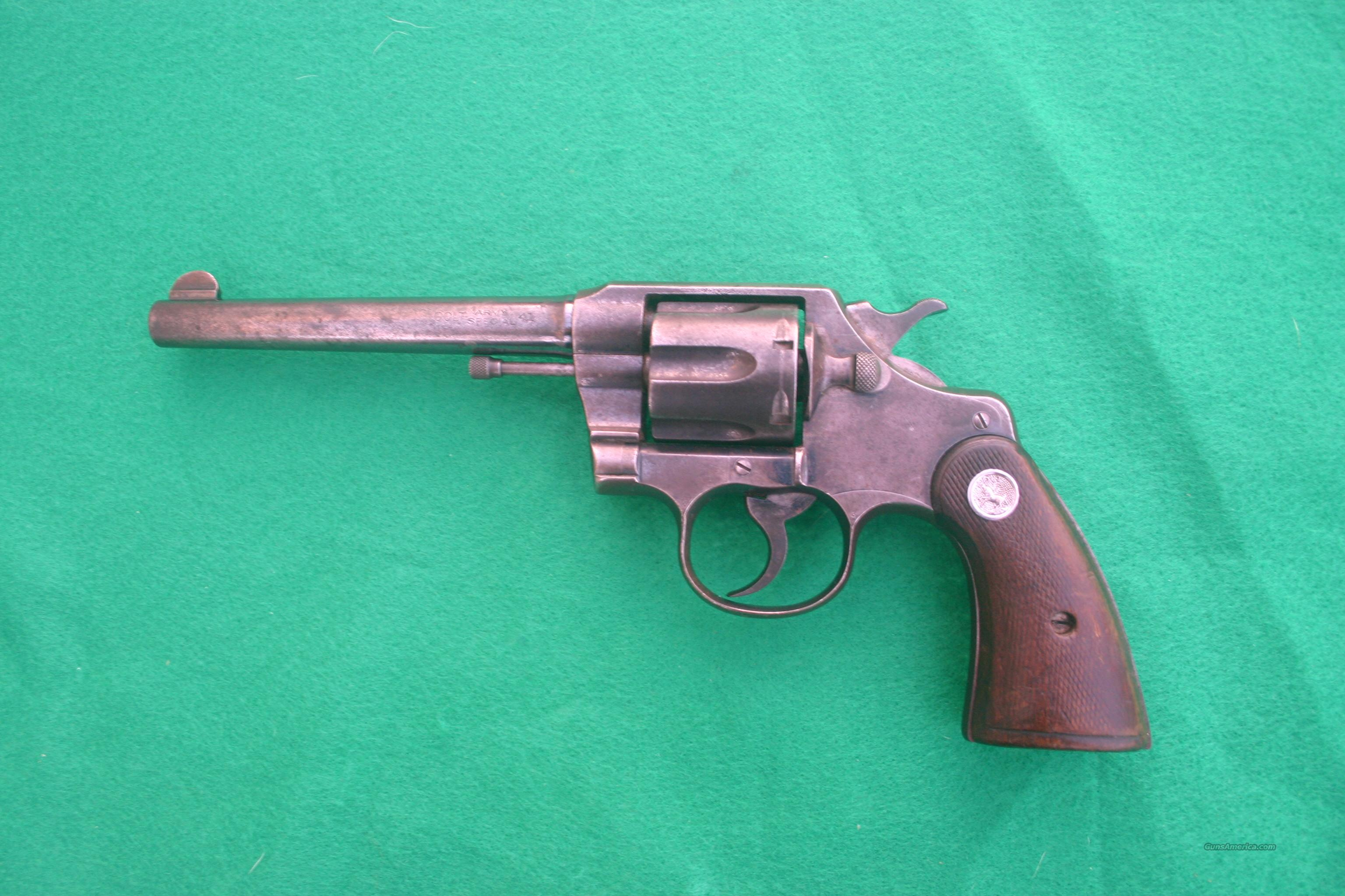 Colt Army Special .41cal 1912  Guns > Pistols > Colt Double Action Revolvers- Pre-1945
