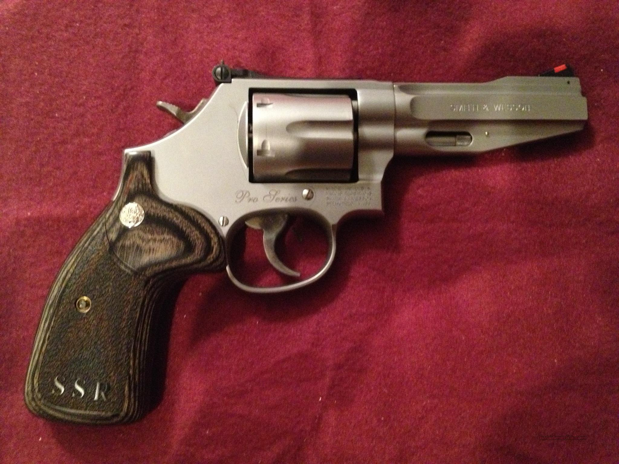 "Smith & Wesson Model 686 SSR Pro Series .357 Magnum ""NEW""  Guns > Pistols > Smith & Wesson Revolvers > Full Frame Revolver"
