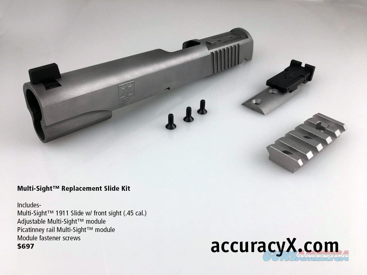 1911 Multi-Sight™ Slide System  Non-Guns > Gun Parts > 1911