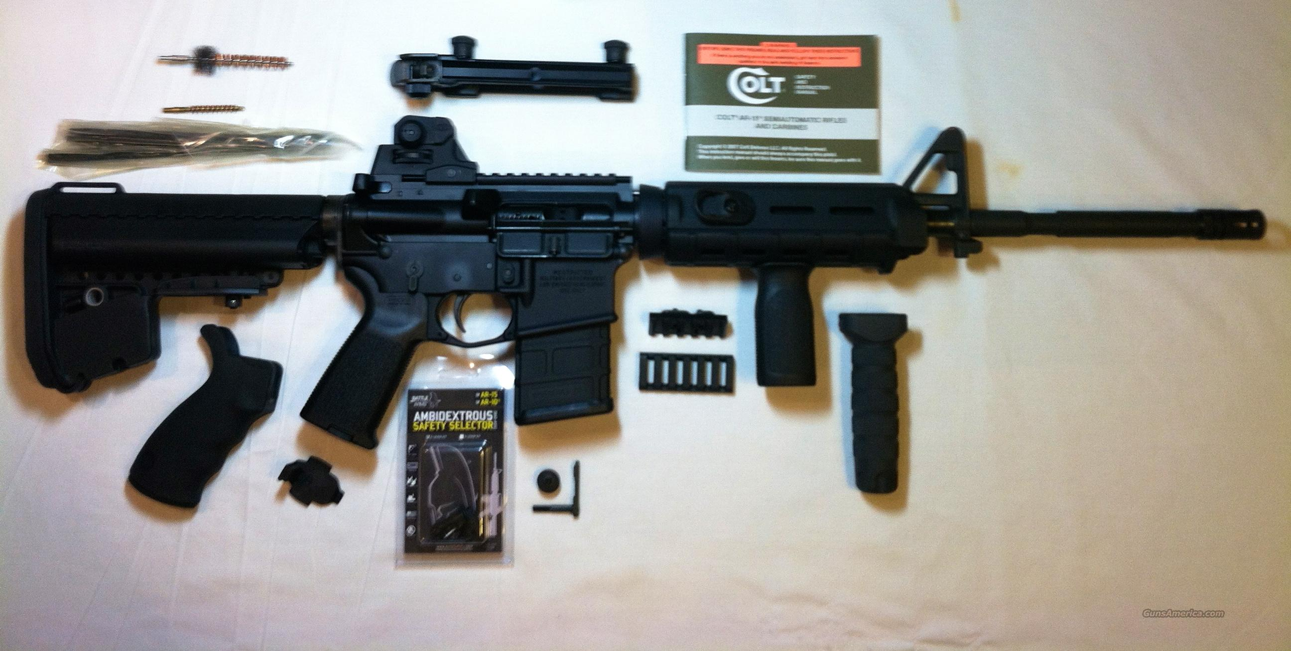 Colt 6920LE 6920 LE Ambi Left Hand Magpul VLTOR Troy Noveske  Guns > Rifles > Colt Military/Tactical Rifles