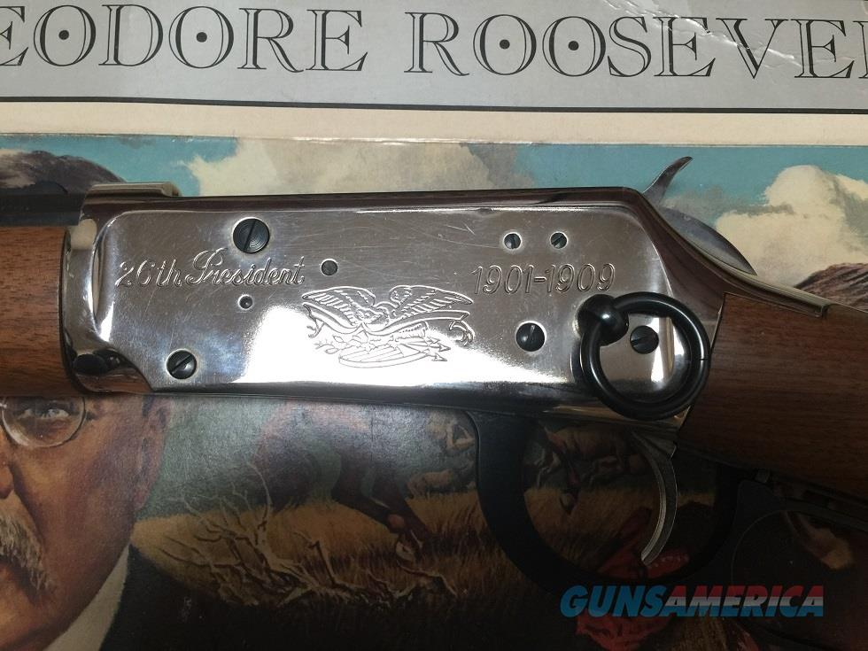 Winchester 94 Carbine - Theodore Roosevelt Commerative  Guns > Rifles > Winchester Rifle Commemoratives