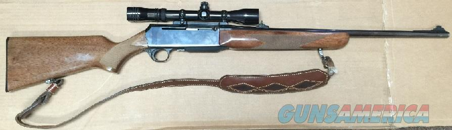 Browning BAR .270 Rifle with Scope (Made in Belgium)  Guns > Rifles > Browning Rifles > Semi Auto > Hunting