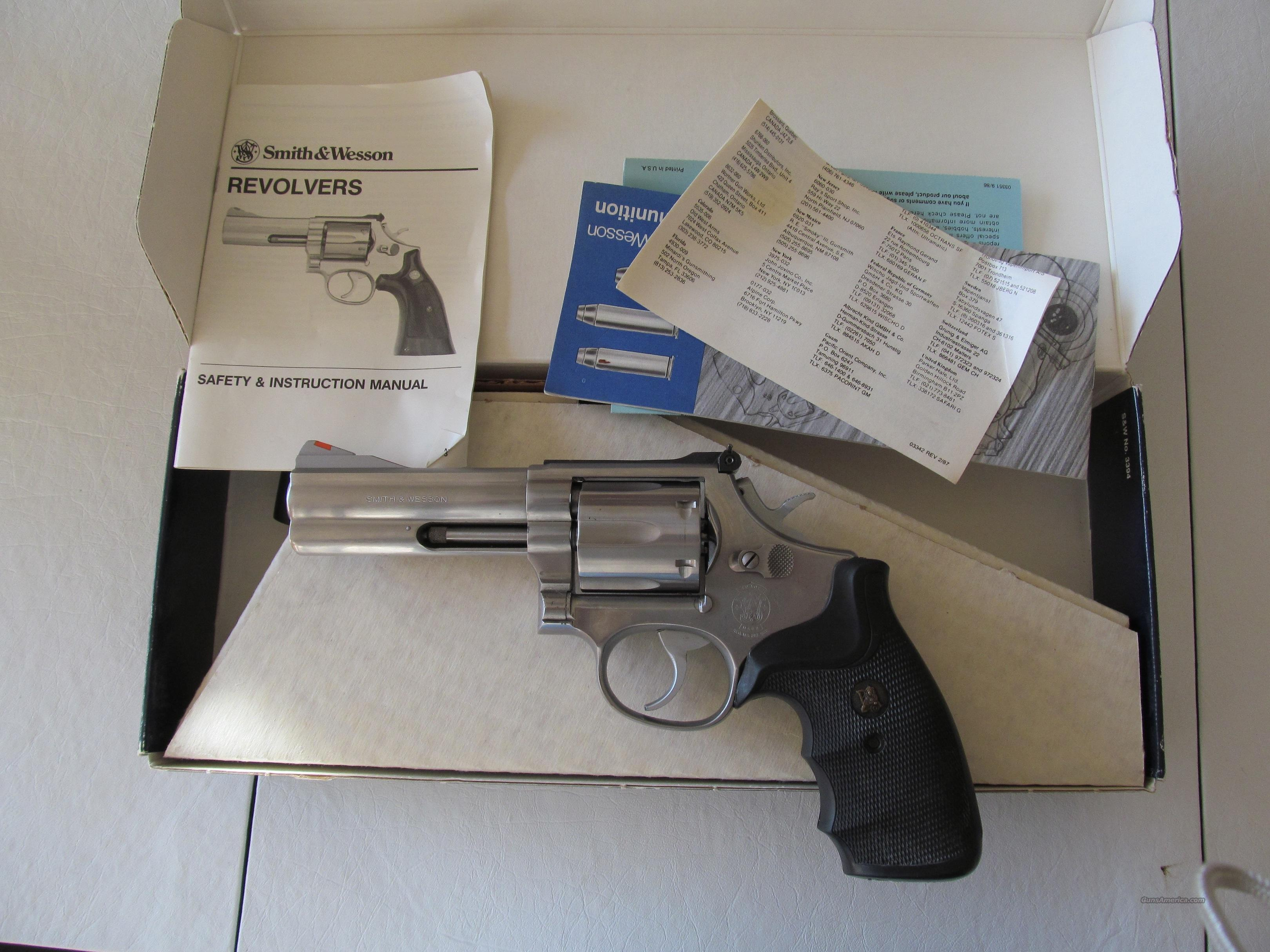 SOLD Smith & Wesson S&W 686 357 MAG / .38 Spcl  Guns > Pistols > Smith & Wesson Revolvers > Full Frame Revolver