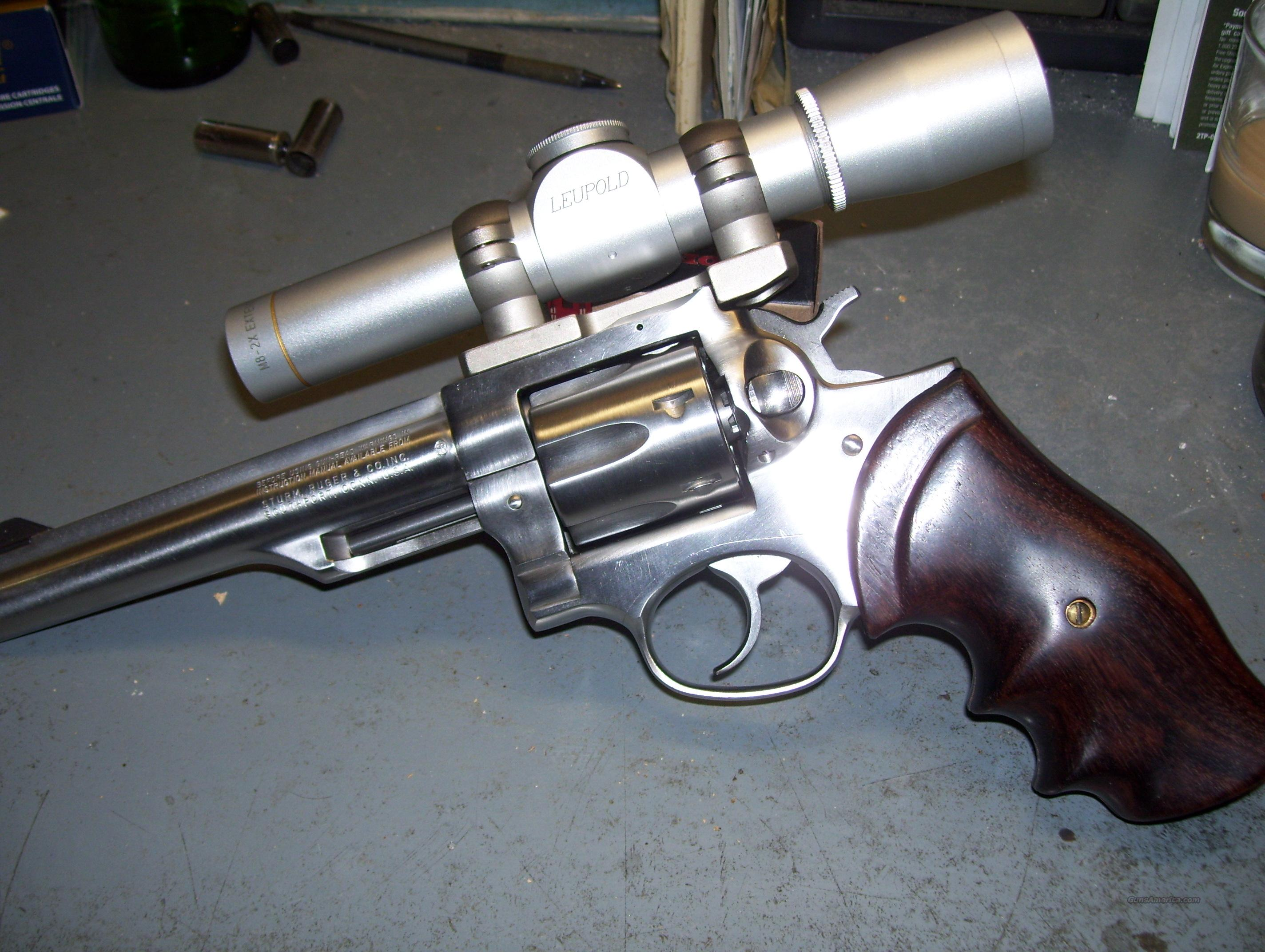 "Ruger GP100 6""  Guns > Pistols > Ruger Double Action Revolver > Redhawk Type"