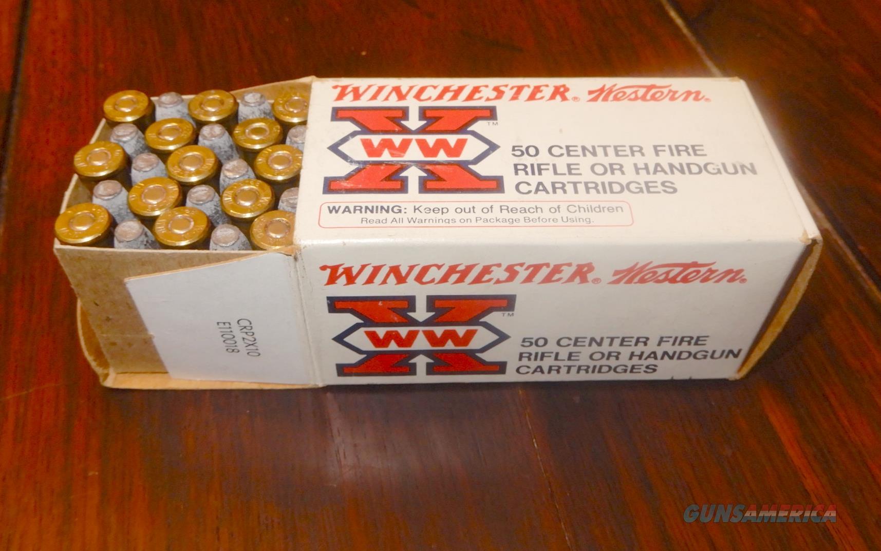 Winchester 32-20 rifle or handgun, 50/box  Non-Guns > Ammunition