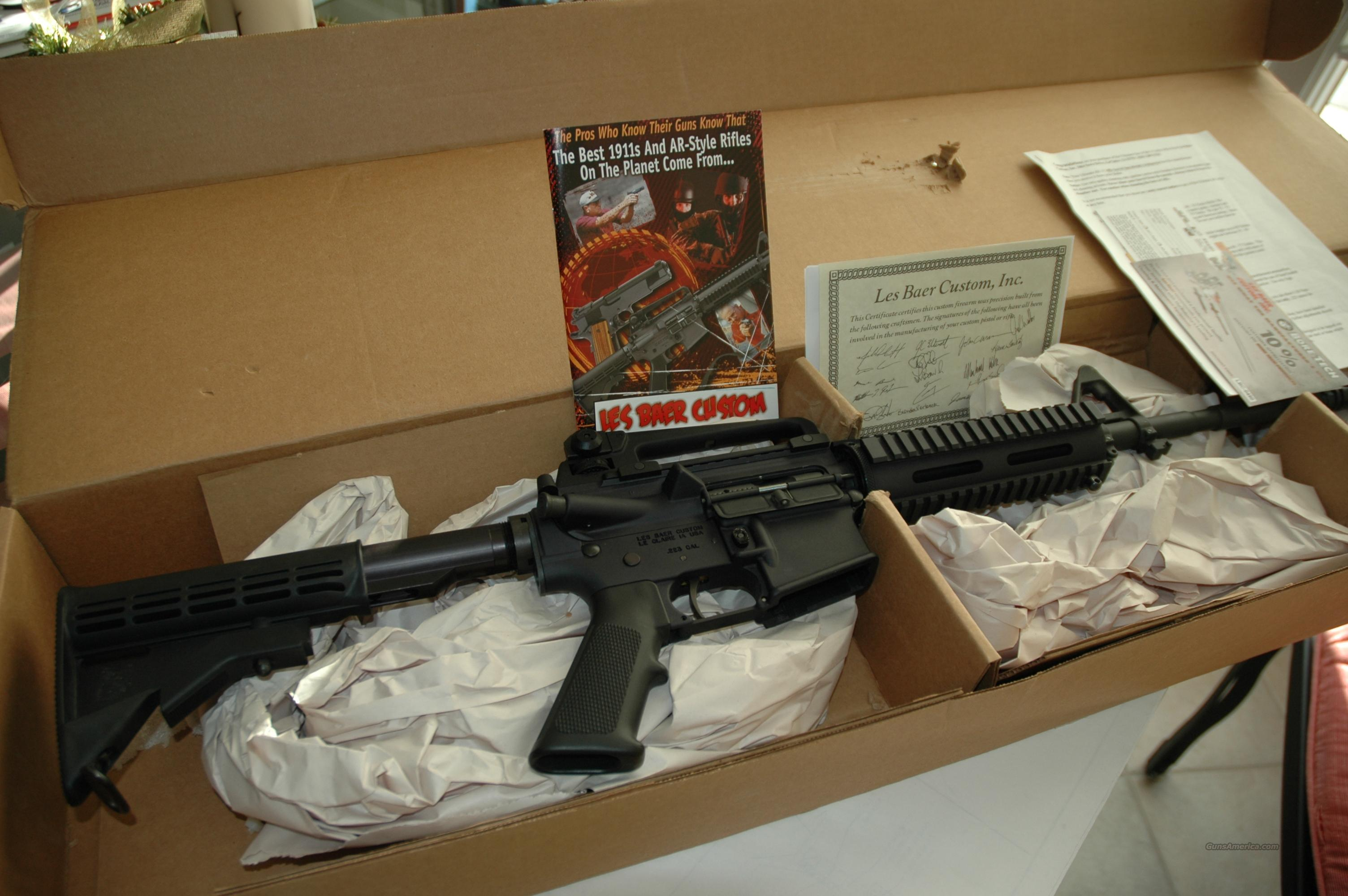 Les Baer .223 Plice Special AR15, M4  Guns > Rifles > AR-15 Rifles - Small Manufacturers > Complete Rifle