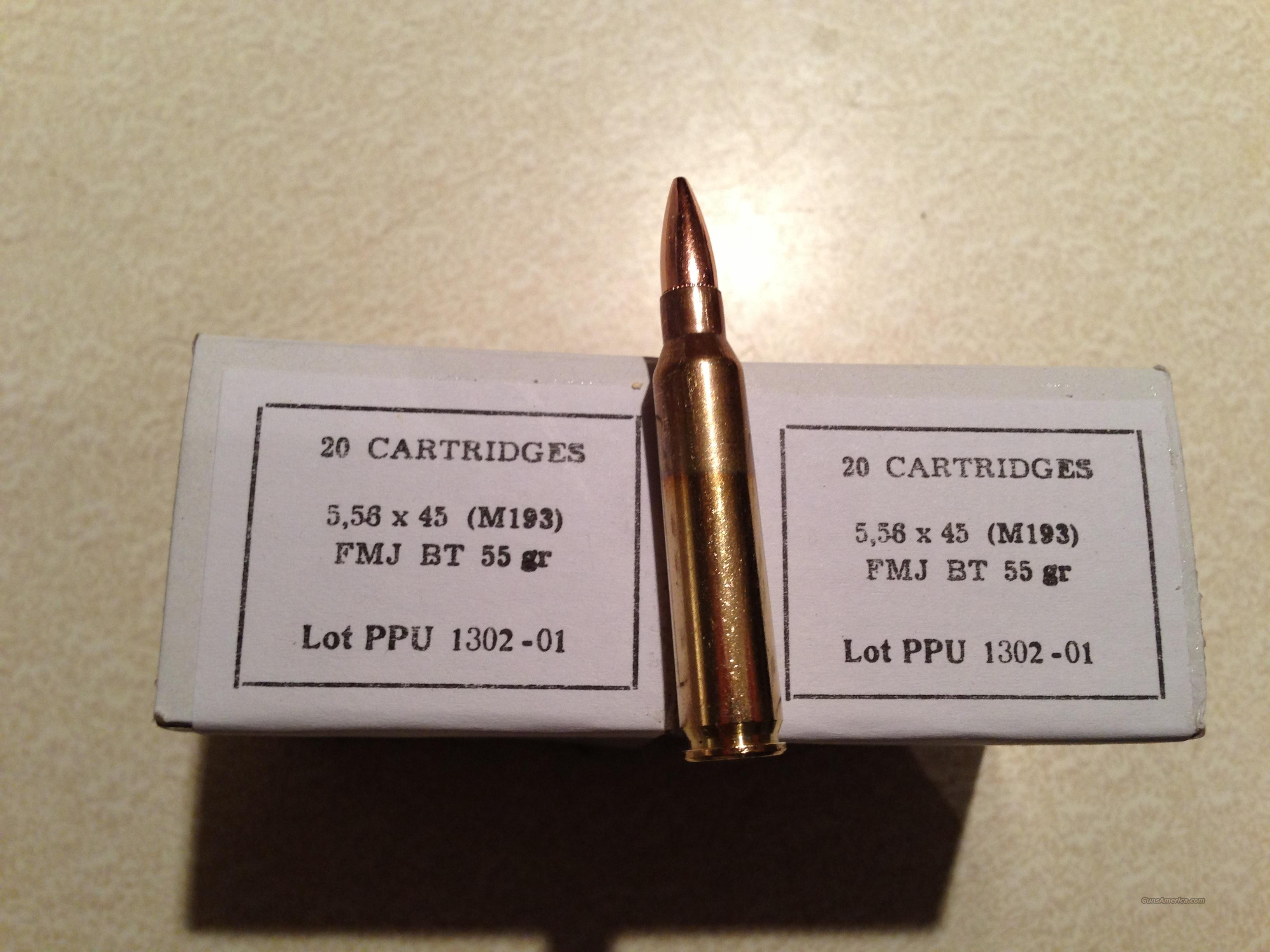 .223 5.56 nato ammo  Non-Guns > Ammunition