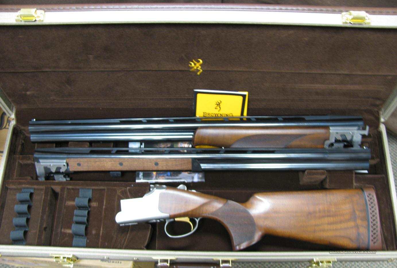 Browning Citori  525 Combo 12 and 20 ga  Guns > Shotguns > Browning Shotguns > Over Unders > Citori > Hunting