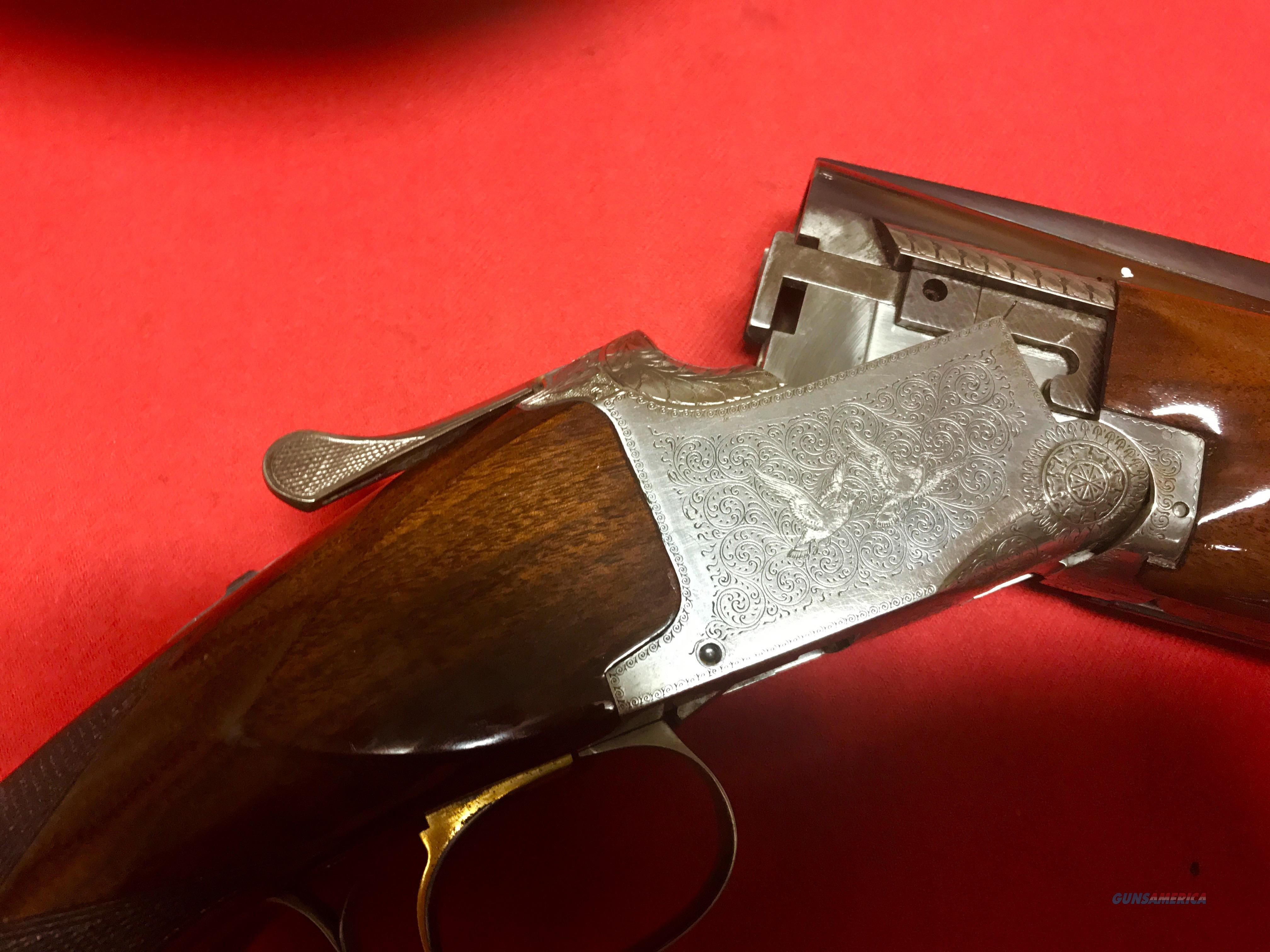 "Browning Broadway, 12 ga. Trap Pigeon Grade, 32 "" bbls.  Guns > Shotguns > Browning Shotguns > Over Unders > Belgian Manufacture"