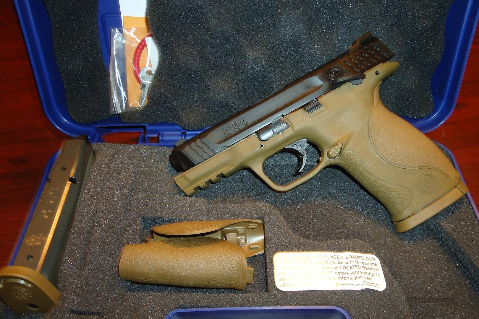 BNIB Smith & Wesson M&P 45ACP in FDE !!!! RARE!!!   Guns > Pistols > Smith & Wesson Pistols - Autos > Polymer Frame