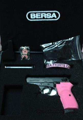 BREAST CANCER AWARENESS Bersa Thunder 380 -- BNIB VERY LIMITED, RARE!!  Guns > Pistols > Bersa Pistols