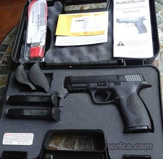 BNIB Smith and Wesson M&P 9MM NO Thumb Safety!!  Guns > Pistols > Smith & Wesson Pistols - Autos > Polymer Frame