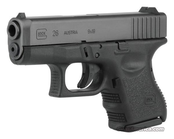 BNIB Glock 26 Subcompact--perfect for carry!   Guns > Pistols > Glock Pistols > 26/27