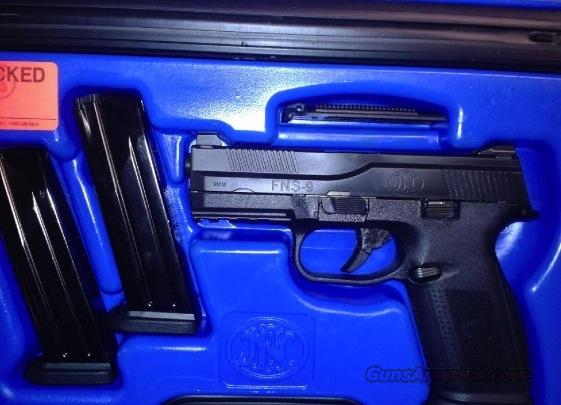 RARE BNIB FNS-9 NO SAFETY 9mm with night sights!  Guns > Pistols > FNH - Fabrique Nationale (FN) Pistols > FNP