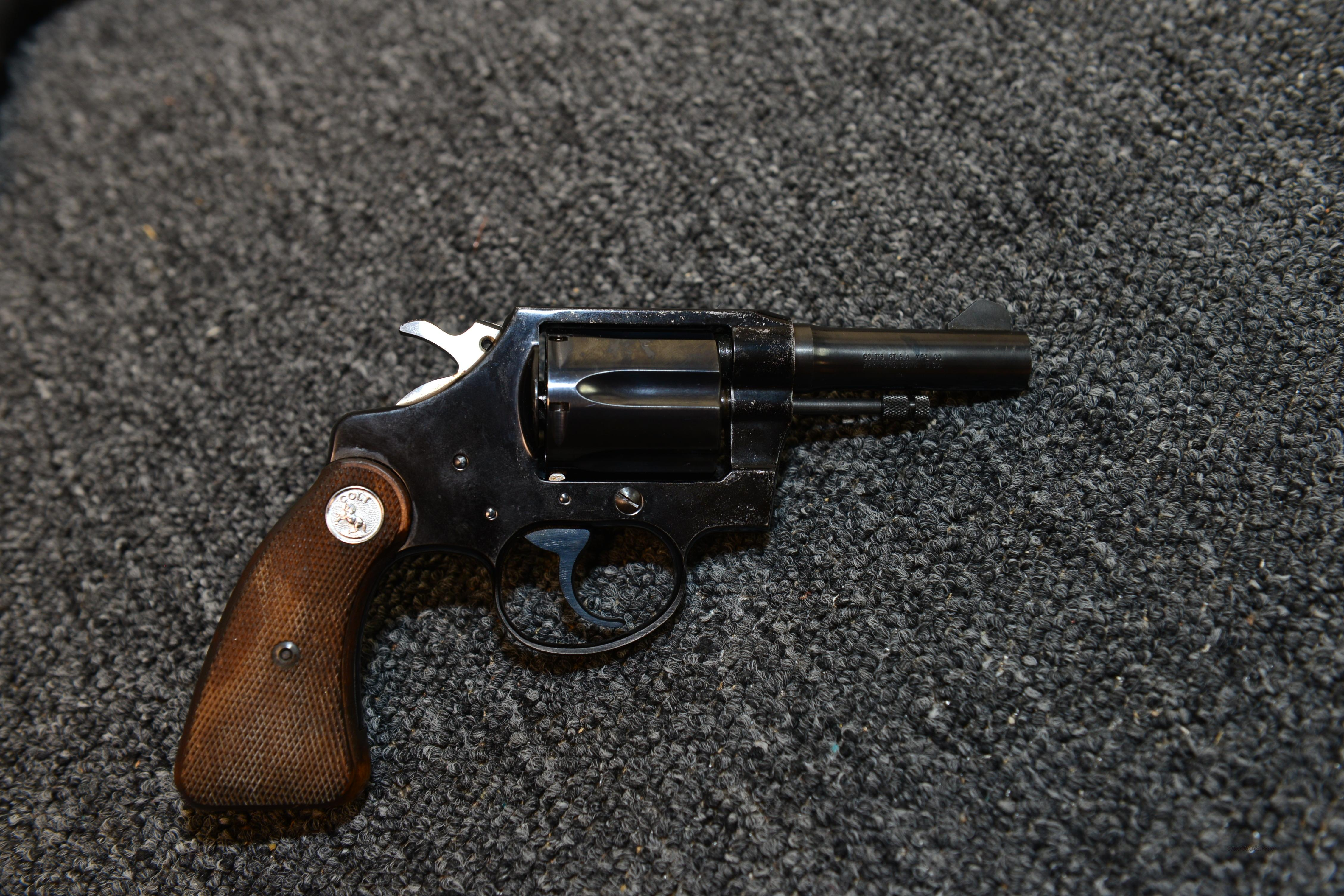 "COLT COBRA RARE 4"" SQ BUTT  Guns > Pistols > Colt Double Action Revolvers- Pre-1945"
