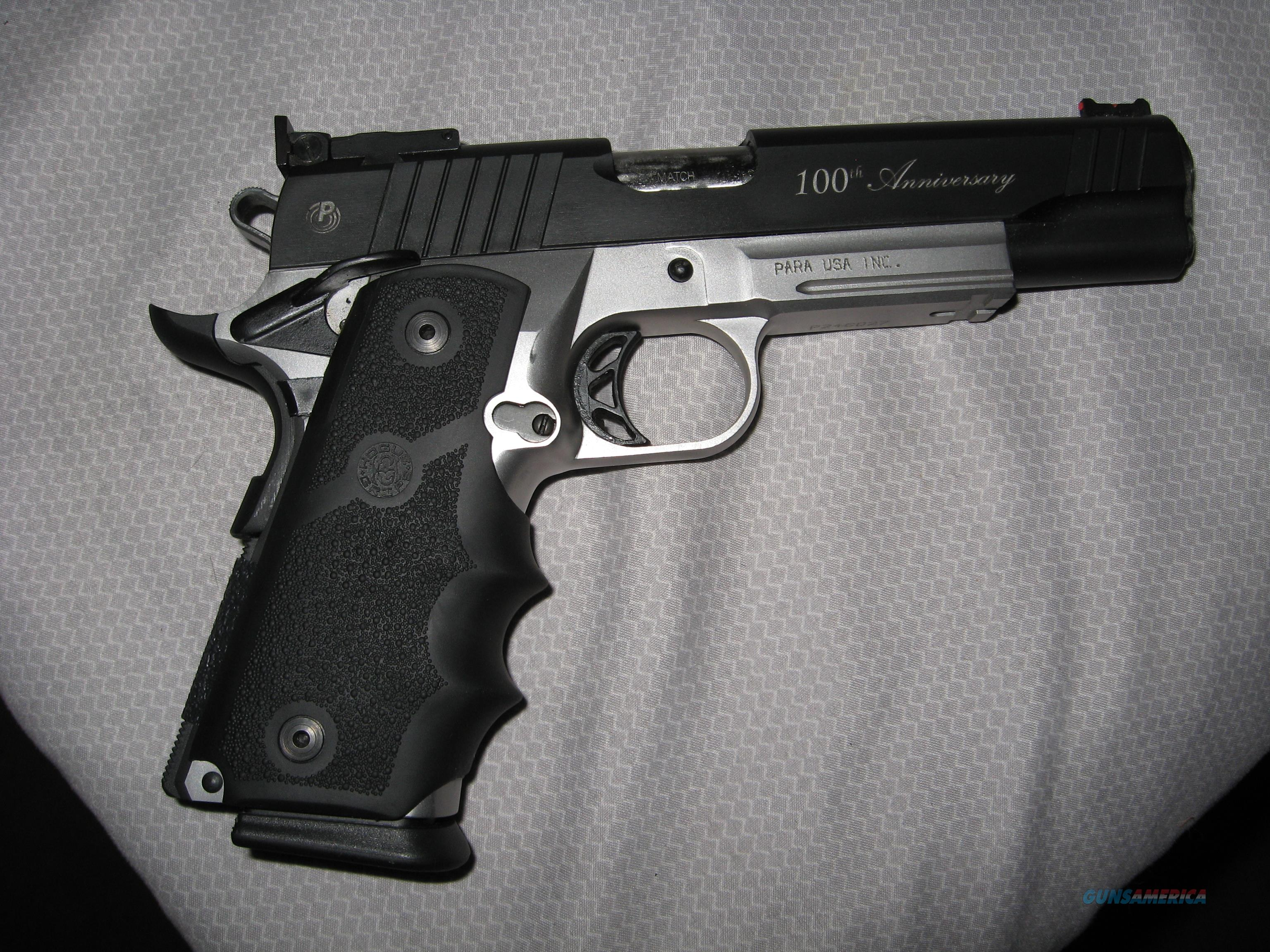 Para Ordnance Pxt 100th Anniversary 1911 For Sale