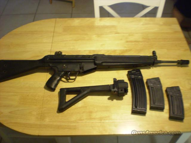 HK 93 rifle  Guns > Rifles > Heckler & Koch Rifles > Sporting/Hunting