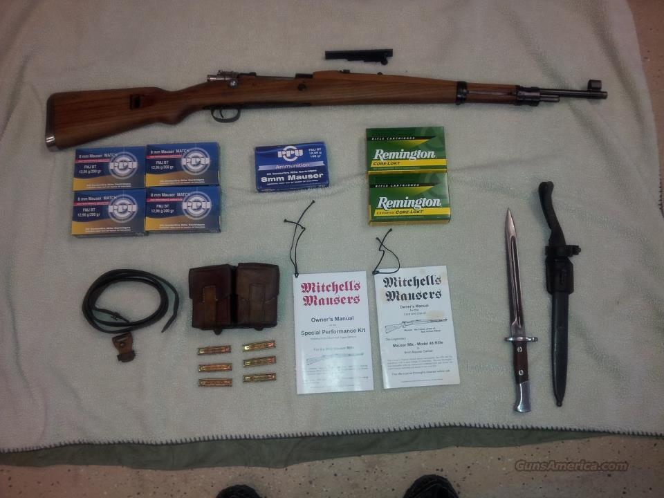 Mitchell 98K Mauser (8mm)  Guns > Rifles > Mitchell's Mausers Rifles