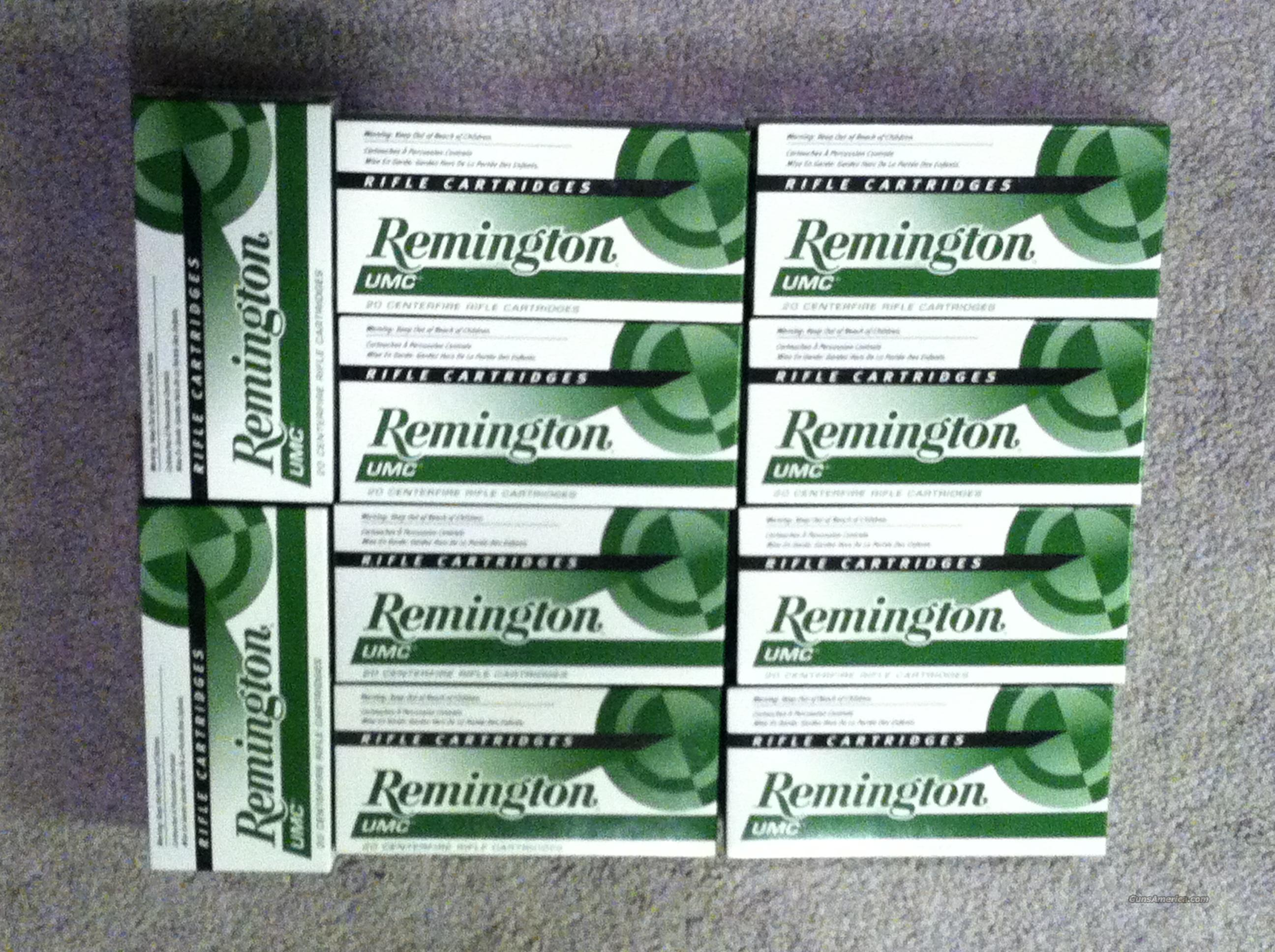 223 Ammo (Remington UMC - 55 GR.) 200 Rounds  Non-Guns > Ammunition
