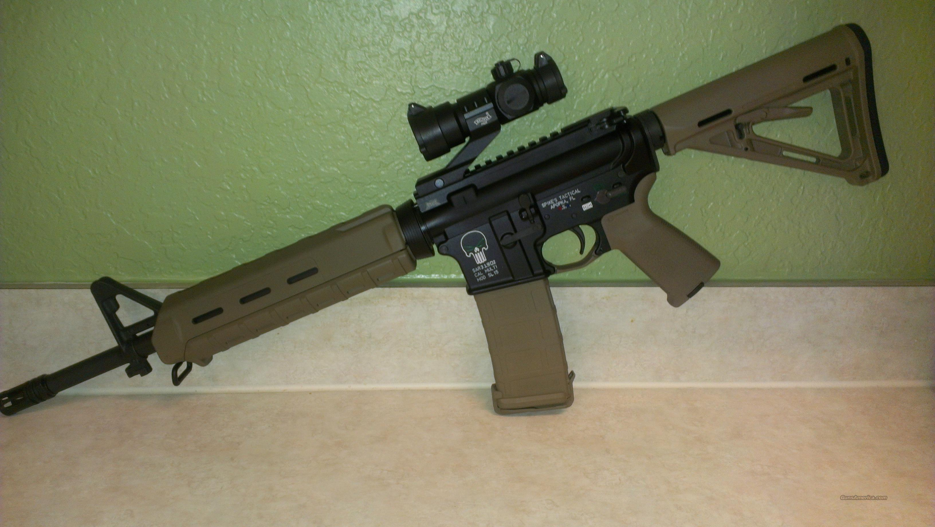 Spikes Tactical Punisher Ar 15 For Sale