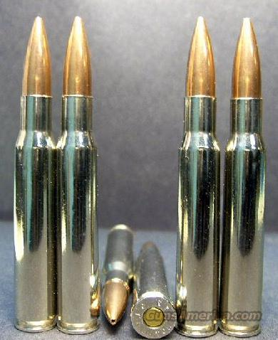 40ct.., .30-06 cal. lake City Match Ammo - Nickel!  Non-Guns > Ammunition