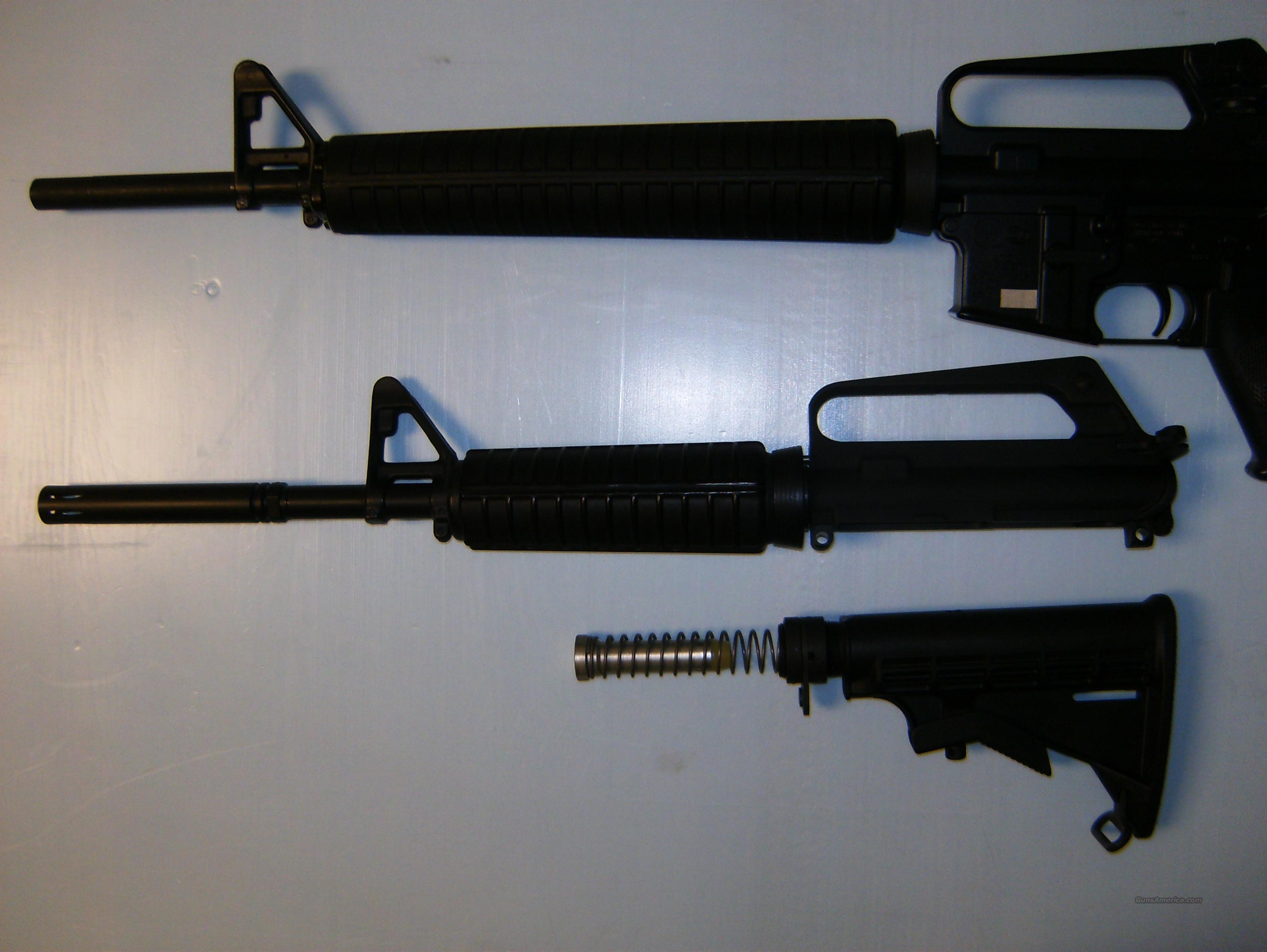 Colt AR-15 AR15 with Extra Bushmaster Parts  Guns > Rifles > Colt Military/Tactical Rifles