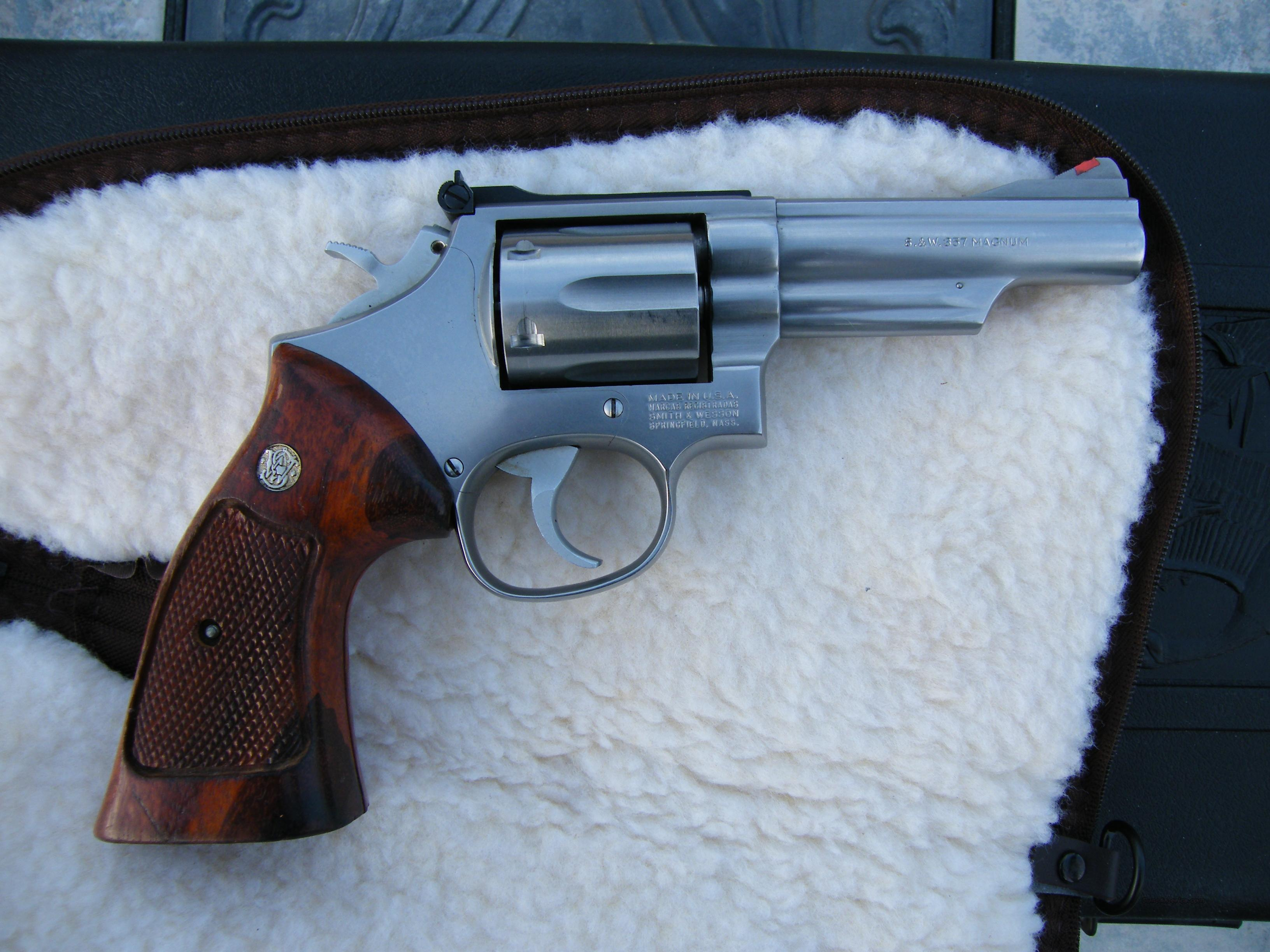 Smith Wesson 66-2 4inch  Guns > Pistols > Smith & Wesson Revolvers > Full Frame Revolver