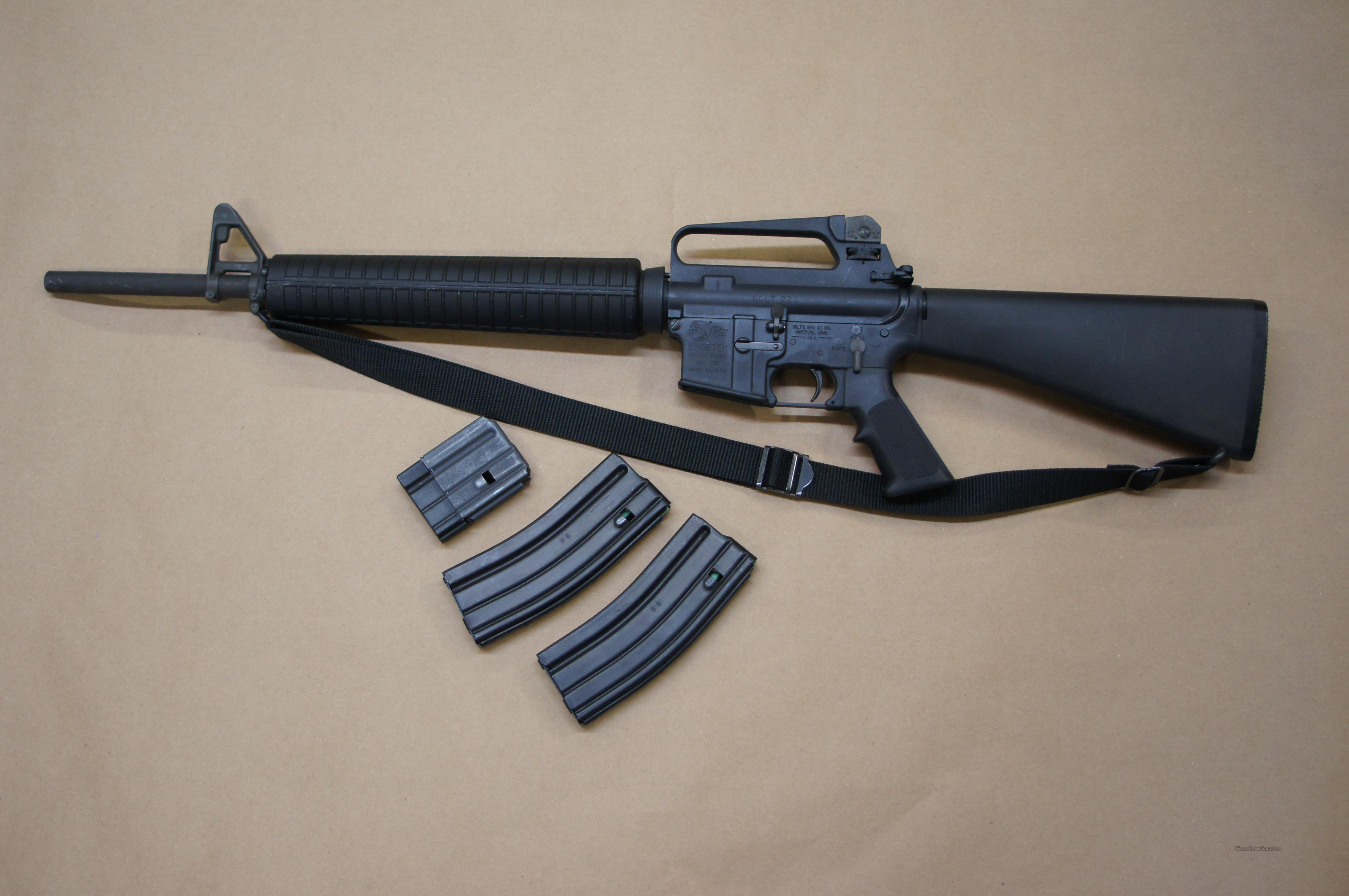 Colt AR -15 Sporter Target Model  Guns > Rifles > Colt Military/Tactical Rifles