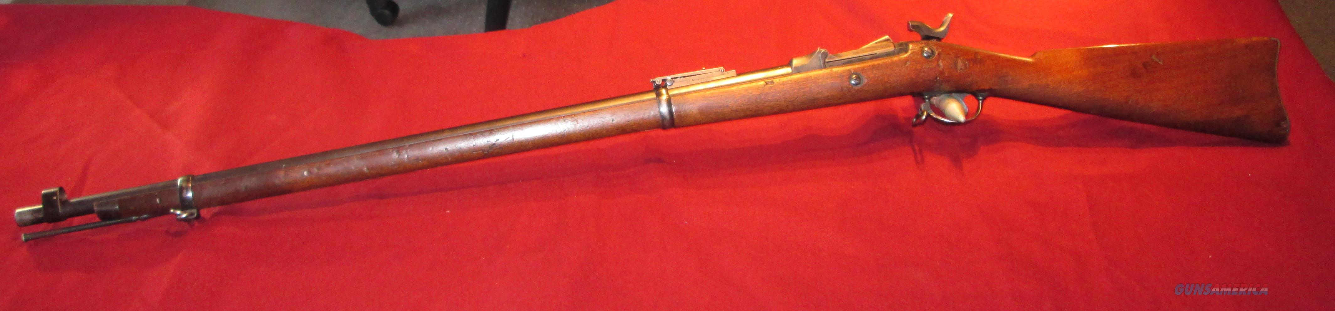 "Springfield Model 1884 Rifle ""Trapdoor"" - Pristine bore - Buffington Sight  Guns > Rifles > Military Misc. Rifles US > Pre-1900"