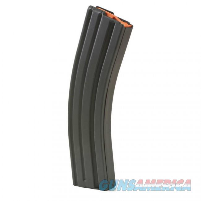 ASC AR-15 .223/5.56 Stainless Steel 40 Round Magazine - Marlube Black, Orange Follower  Non-Guns > Magazines & Clips > Rifle Magazines > AR-15 Type