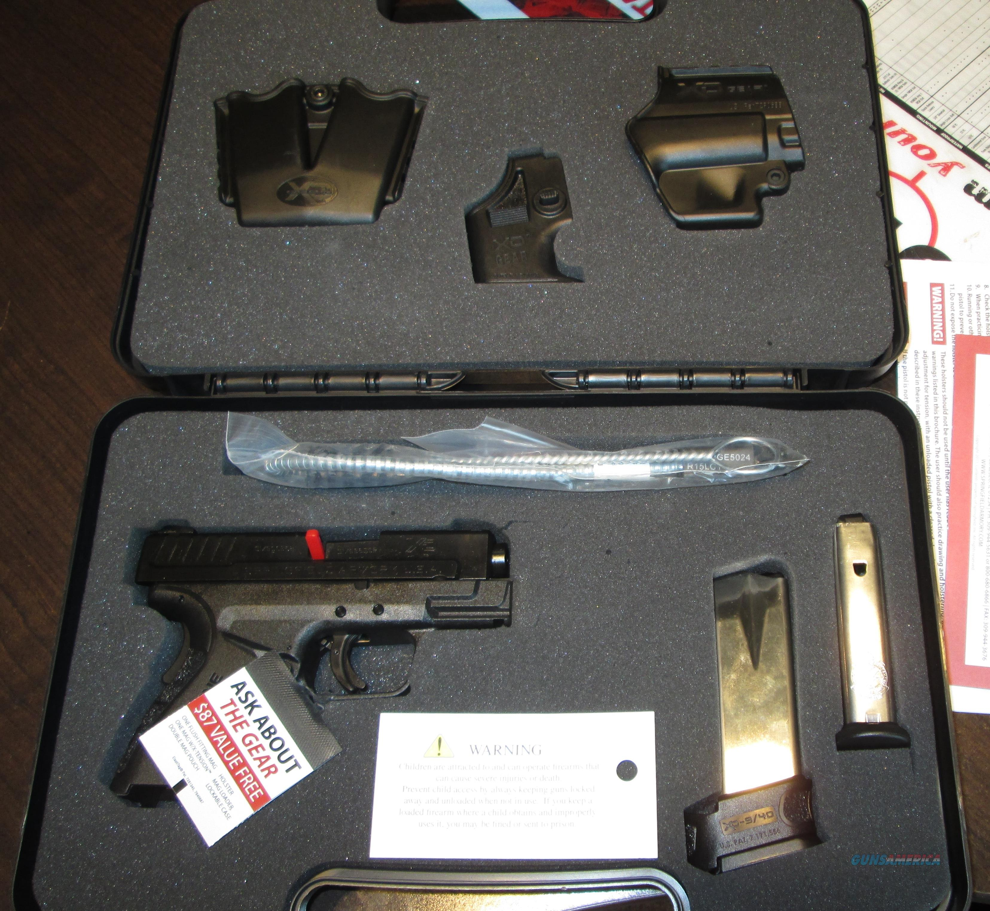 Springfield Armory XDG9801HCSP Mod-2 W/ Gear **New** XD sub compact 9mm  Guns > Pistols > Springfield Armory Pistols > XD (eXtreme Duty)