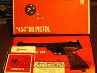 Crosman 454 BB co2 Pistol LNIB  Non-Guns > Air Rifles - Pistols > Vintage